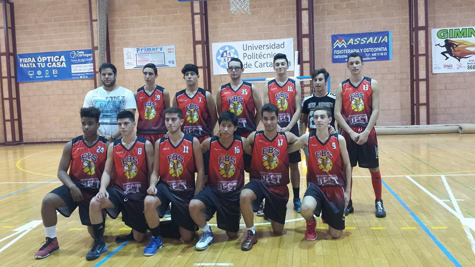 EBS Cartagena junior masculino