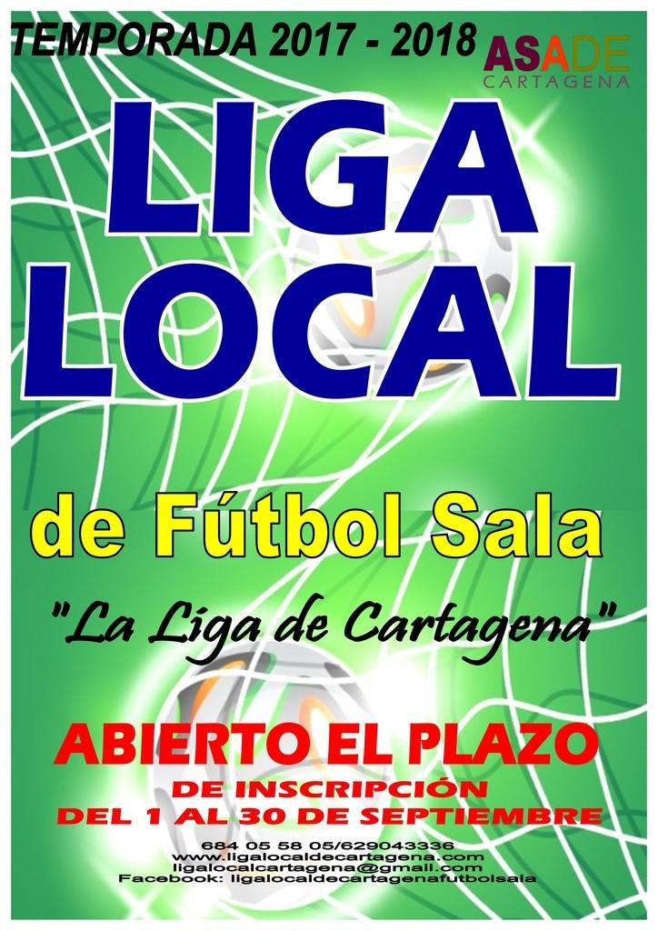 La Liga Local de fútbol sala llega a su 42 edición y abre el plazo ... 1b99ccf87d127
