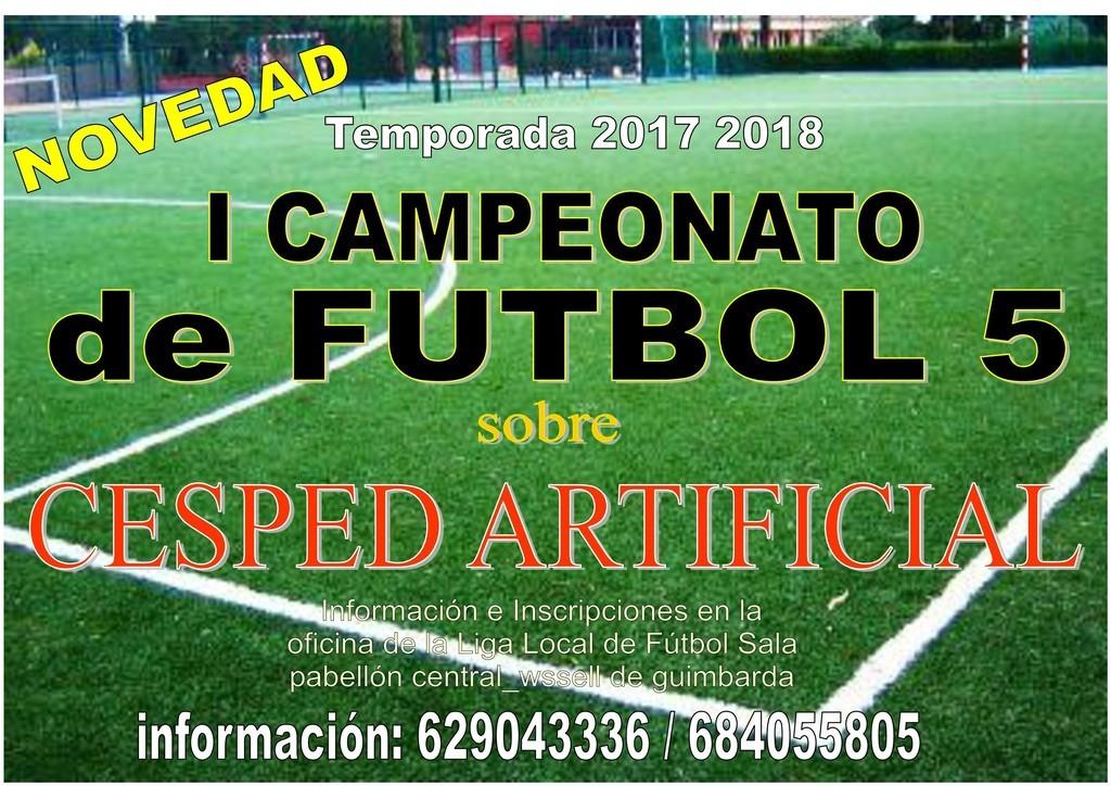 La Liga Local de fútbol sala llega a su 42 edición y abre el plazo de  inscripción 7e501e370352e